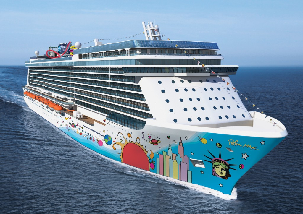 Swarming with Russians...and norovirus.  Is the cruise ship a form of biological warfare?Norwegian Breakaway