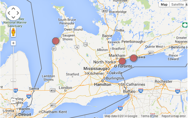 If something were to go wrong in a nuclear plant near Toronto, there would be no Ontario left!