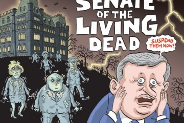 I only see six, where are the other 53 Conservative Senators appointed by Harper? He's a very private person....doesn't play well with others, eh?Graeme MacKay