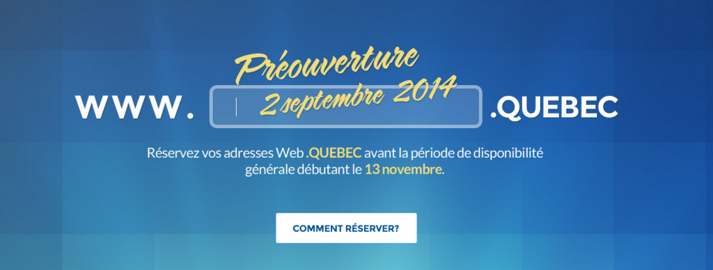 The biggest thing to happen on the internet since Têtes à claques.registre.quebec