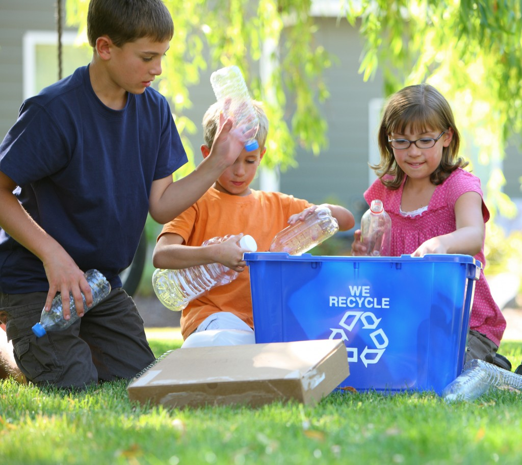 """""""Kids, step away from the blue-bin""""The Environmental Center"""