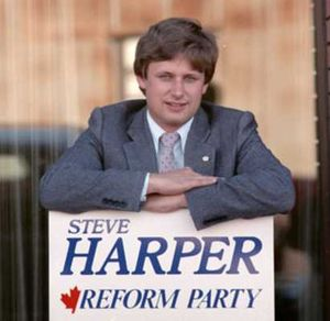 """""""I know something you don't know."""" - Stephen Harper in his youthAlberta Diary"""