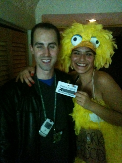 Michael Sona dressed as Pierre Poutine for Halloween. Was the trial really necessary?Canoe