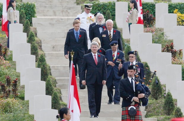 At the very least Tories need funding for the DND and Veterans Affairs for photo-ops