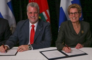 Couillard: Trust me, liberalizing alcohol will make people forget all about past transgressions, one way or another! http://www.torontosun.com/2014/11/21/ontario-quebec-premiers-reach-agreement-on-energy-and-alcohol