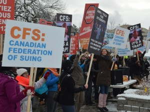 CFS is the PROBLEM http://news.nationalpost.com/2013/12/27/canadian-federation-of-students/