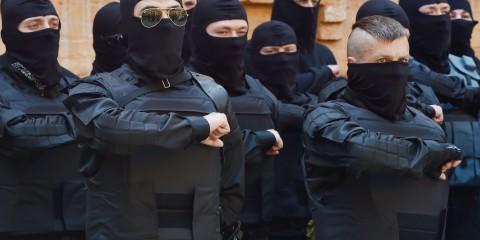 TOPSHOTS-UKRAINE-RUSSIA-CRISIS-POLITICS-RIGHT-SECTOR-OATH