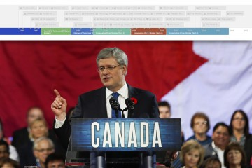 Prime Minister Stephen Harper speaks to party faithful at the Conservative convention in Calgary Friday, Nov. 1, 2013.THE CANADIAN PRESS/Jeff McIntosh