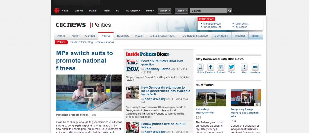 Breaking news as it happens. CBC.ca