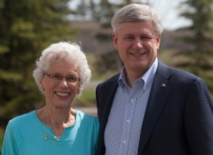 They're so cute togetherStephen Harper