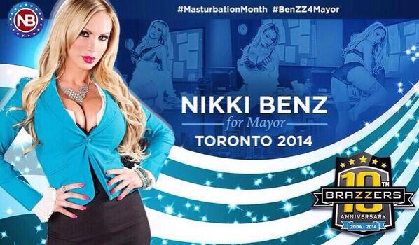 "I'd say ""Brazzers"" but it's already on the photo.Nikki Benz"
