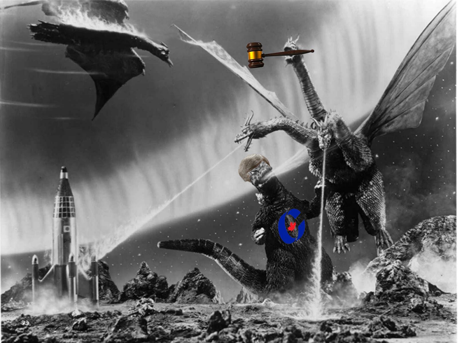 Battle of the TitansGodzilla-Movies