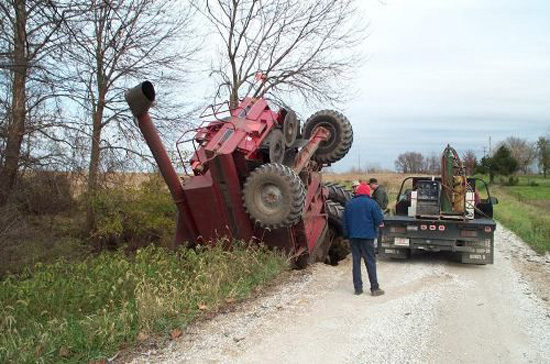 There's no license plate on that tractor. Learn More