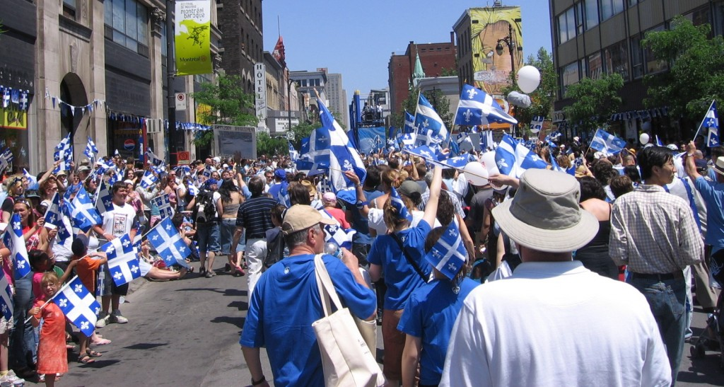 Blue and white as far as the eye can seeMontrealais