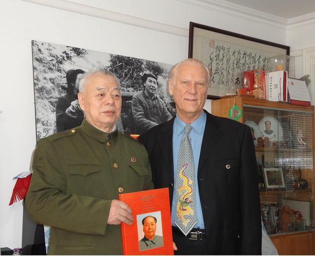Mr Erwin with General Wang