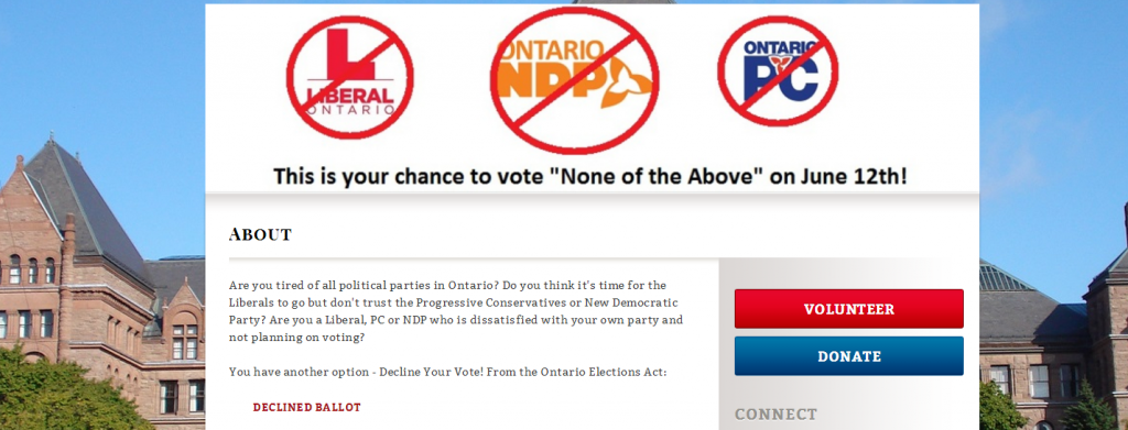 No party for the win!Decline Your Vote