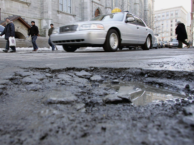 Would you like some road with your potholes?Paul Chasson
