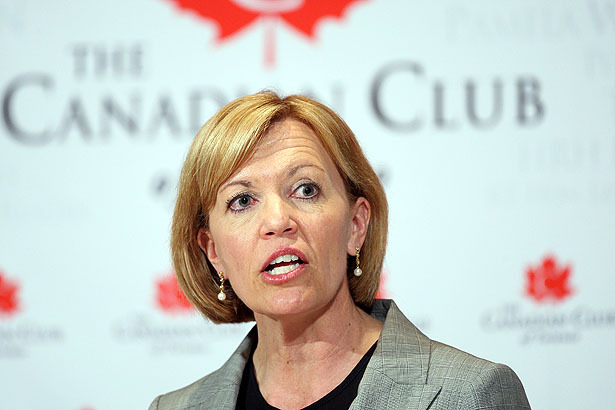 This is the face she'll be making at Wynne, every day for the next four yearsRene Johnston
