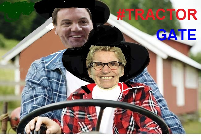 Seriously, can no one drive a tractor in this province?