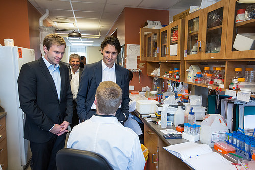 Thank you, Doctor. The cloning went perfectly.Justin Trudeau