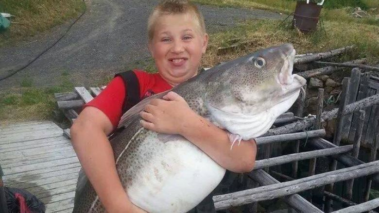 The fish weighs more than that boyCBC