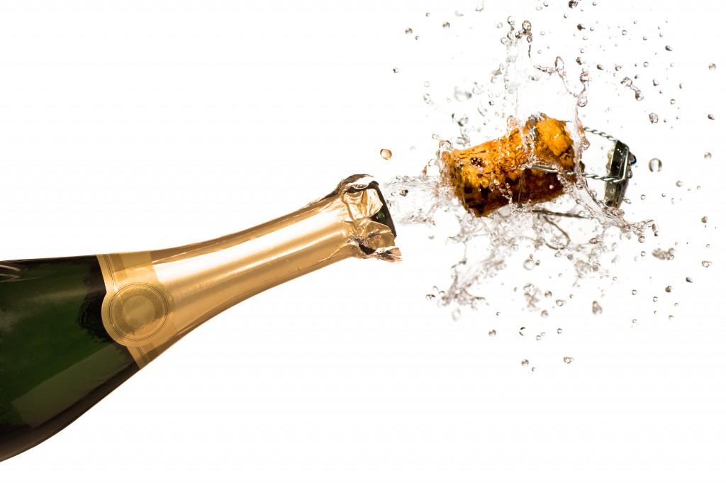 Champagne always brings the pressureBDA