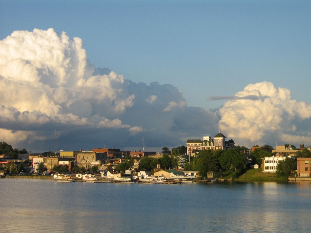 The rest of Ontario is nice, it doesn't have a monstrous tower dominating the skyline...Kenora