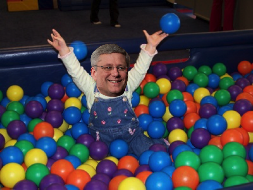 You don't need to care about the environment when you're in a ball pit!