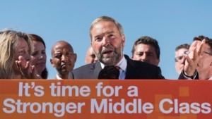 Um, the NDP would like to announce its charitable status...